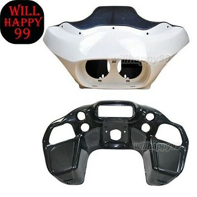 Unpainted Injection ABS Inner&Outer Fairing for Harley Davidson FLTR Road Glide