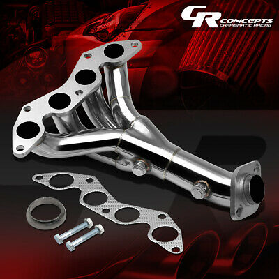 For 01-05 Honda Civic Dx/lx 1.7 D17 Stainless Exhasut Manifold 4-1 Header+Gasket