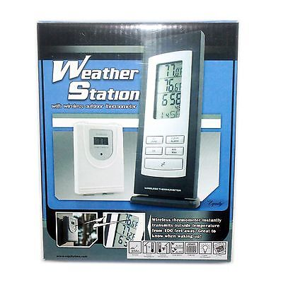 NEW Equity Weather Station with Wireless Outdoor Thermometer - 31215
