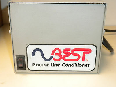 BEST POWER LINE CONDITIONER PLC-210 [4 OUTLET]  120 volt