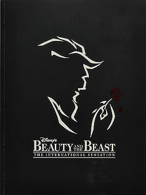 BEAUTY AND THE BEAST NATIONAL TOURING COMPANY SOUVENIR PROGRAM - CHUCK WAGNER