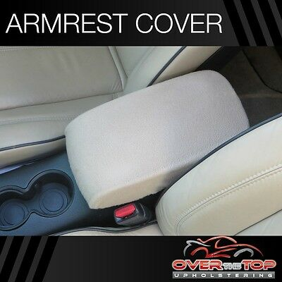 Toyota Highlander (F2X) TAN Armrest Cover For Console Lid 2008-2013