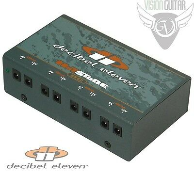 NEW! Decibel Eleven Hot Stone HC Isolated DC Power Supply 4 Isolated Outputs