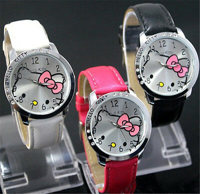 lovely hello KT Girls Ladies Wrist Quartz  Watch Nice Kid's Fashion gift