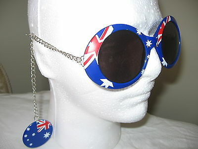 Australian Flag Australia Day Sunglasses Tennis, Cricket, Aussie Day BBQ Party