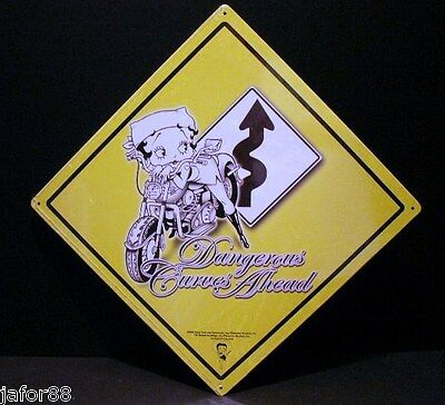 BETTY BOOP, DANGEROUS CURVES AHEAD,, APO and FPO BUYER WELCOME, ADULT, UNISEX