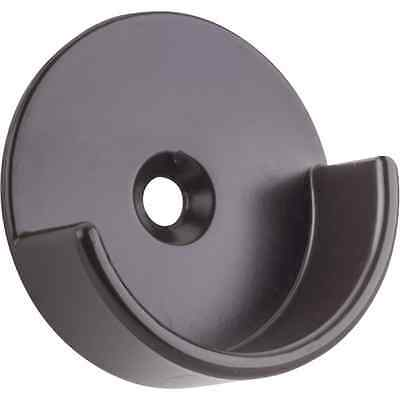 """1-5/16""""-Oil Rubbed Bronze-Metal- Open Bracket for 1-1/4""""-Round Closet Rod"""