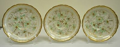 3 x Orphaned, R.H. & S.L. Plant, Tuscan Saucers, Made in England, VG Condition