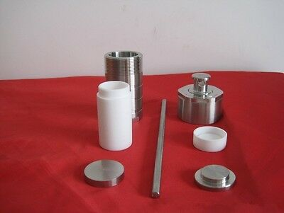 Autoclave Hydrothermal Synthesis Reactor Kettle Vessel Teflon Chamber 100ml a
