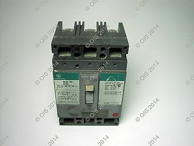 100 AMP General Electric TED 134YT100A molded case switch breaker