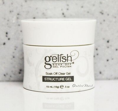 GELISH Nail Harmony Soak Off  - STRUCTURE CLEAR GEL Builder 15 mL (0.5 oz) 01247