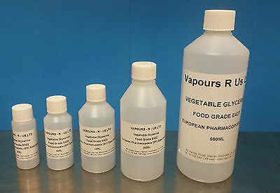Vegetable Glycerine Food Grade (E422)   (Ep) Cosmetic Grade (Kosher)