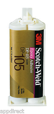 3M™ Scotch-Weld™ DP105 Epoxy Adhesive Clear 50ml Fast Setting