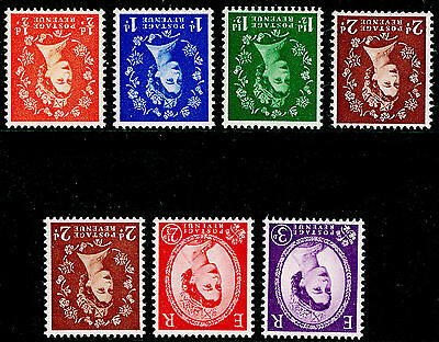 Sg540Wi-545Wi, COMPLETE SET (one of each value), NH MINT. Cat £22. WMK EDWARD.