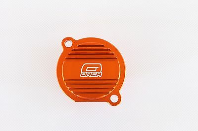 New Cnc Billet Oil Filter Cover Ktm  250 450 525 Sx Sx-F Exc Exc-F Smr (Or01)