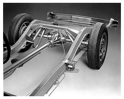 1954 Studebaker Chassis Factory Photo ca0666