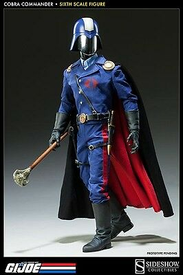"Dictator Cobra Commander The Enemy 1/6 Military G.I. Joe 12"" Figur Sideshow"