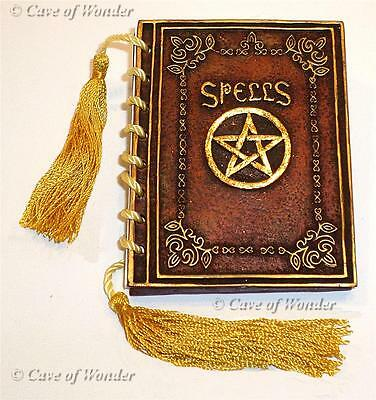 NEMESIS NOW POCKET RUSTIC RED SPELL BOOK Occult/Fantasy/Spellcast/Wizard/Wicca