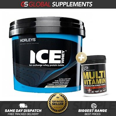 Horleys Ice Whey 3Kg Wpi Whey Protein Isolate Low Carb