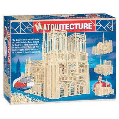 Matchitecture Notre Dame Cathedral Matchstick Kit