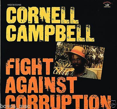 kingston sounds LP : CORNELL CAMPBELL-fight against corruption (hear)