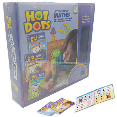 Learning Resources Hot Dots Lets Learn! Maths Educational Toy NEW