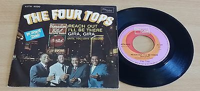 """Four Tops - Reach Out I'll Be There - 45 Giri 7"""" - Italy Press"""