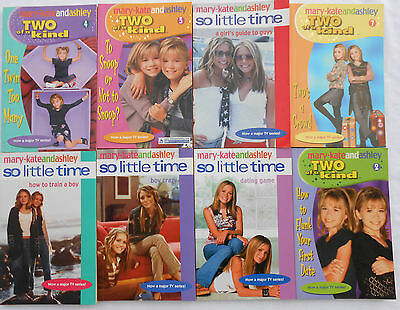 MARY-KATE AND ASHLEY BULK BOOK PACK - Set Of 8 Books