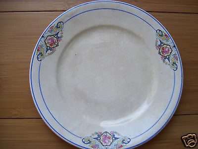 """""""The Wellsville China Co. Ohio"""" Antique 9"""" Plate  Found At  Estate Sale"""