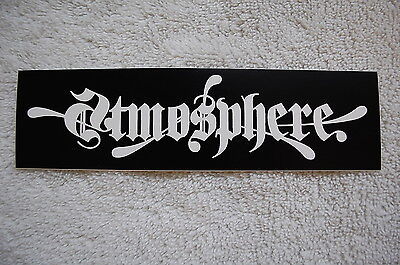 Atmosphere Rap Rock Hip Hop Sticker Decal (S413) Car Window Bumper