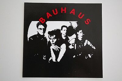 Bauhaus Sticker Decal (143) Gothic Rock Joy Division Sisters Of Mercy Bumper