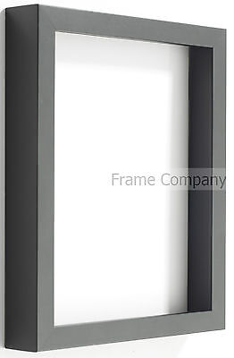 Frame Company Radcliffe Range Black Wooden Box Frame in Various Sizes