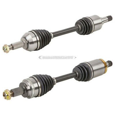 Pair New Front Left Right CV Drive Axle Shaft Assembly For BMW 3-Series E90 AWD
