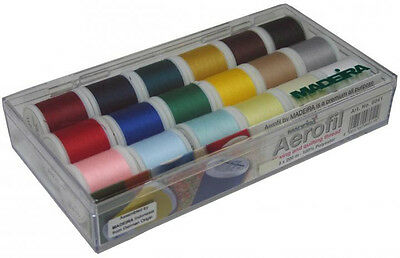 Madeira 18 Spool Aerofil Thread Gift Box 20928041