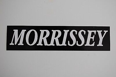 Morrissey Sticker Decal (10) The Smiths The Cure Joy Division Car Window Bumper