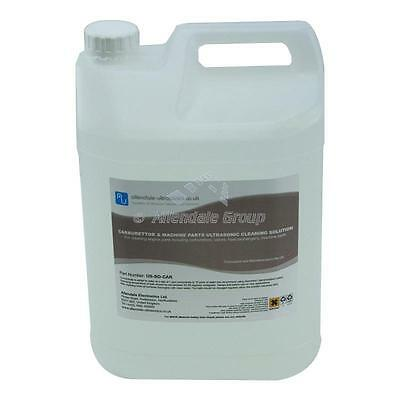 Carburettor & Machine Parts Ultrasonic Cleaning Fluid 5L Engine Cleaner Solution