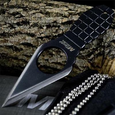 M-TECH GRENADE COMBAT TACTICAL Neck Boot FIXED BLADE KNIFE Military w/ SHEATH
