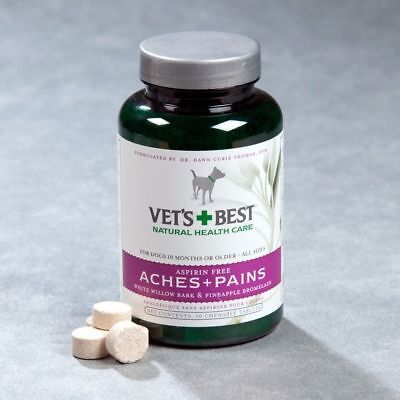 Vets Best Aches & Pain Dogs pain soother arthritis 50 tab Natural pain soother