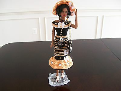 """DIANE'S 5 PIECE HANDMADE CLOTHING & ACCESSORIES FOR 16"""" TYLER WENTWORTH DOLL"""