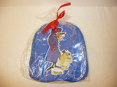 Dick Dastardly and Muttley Small Blue Backpack Bag - From Habib's Hanna Barbera