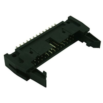 IDC Straight Latched PCB Plug Connector 34 Way (2 Pack)