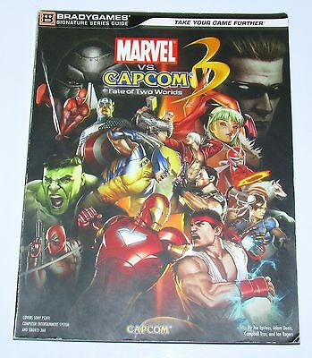 Marvel vs Capcom 3 Fate of Two Worlds Strategy Guide For Playstation