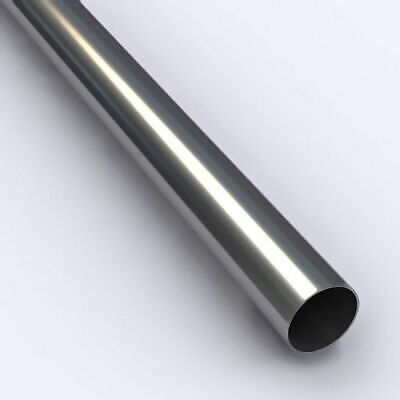 "1/2"" OD x .028"" Wall Type 304/L Stainless Steel Straight Tube (sold by the ft)"