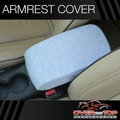 Toyota Highlander (F2X) LIGHT GRAY Armrest Cover For Console Lid 2008-2013