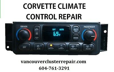 Corvette Digital Climate Control Module Repair