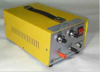 Pulse Sparkle Spot Welder 200W Jewelry Welding Machine Necklace Gold Silver a