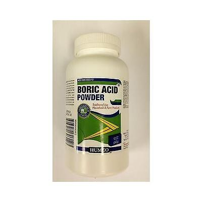Humco Boric Acid Powder Nf Humco 12 Oz