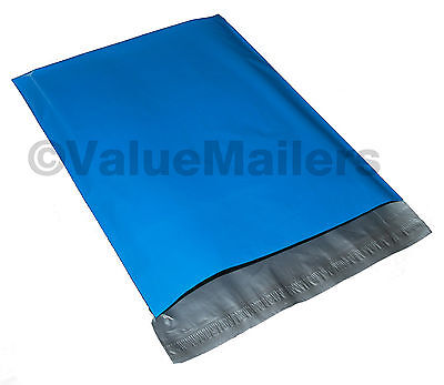 1000 9x12 Blue Poly Mailers Shipping Envelope Couture Boutique Quality Blue Bags
