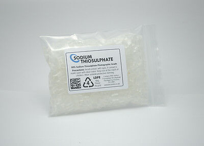 Sodium Thiosulphate 100g - 99% Pure Crystals Aquarium Dechlorinator High Grade