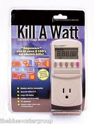 New P3 International Kill A Watt Electricity Usage Voltage Meter Monitor P4400